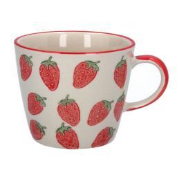 Strawberries Design Mug by Gisela Graham