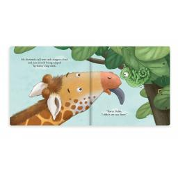 Colin Chameleon Book By Jellycat