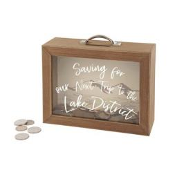 Saving For Our Next Trip To The Lake District Money Box