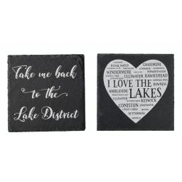 Slate Love The Lake District Coaster