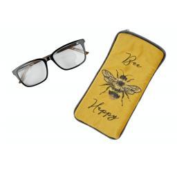 Soft Feel Bee Happy Glasses Case