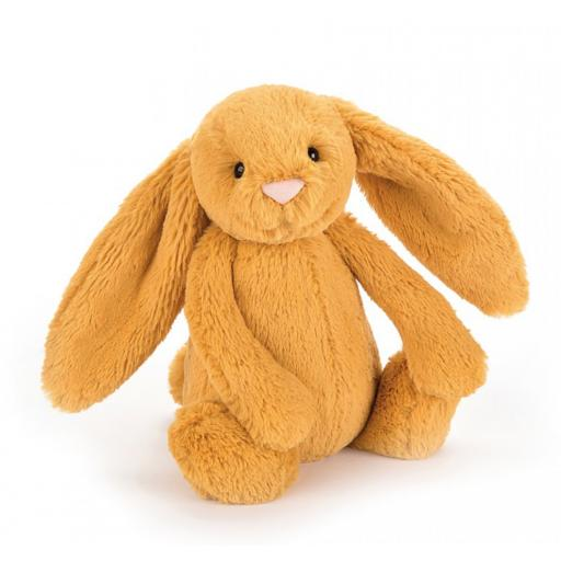 Medium Bashful Saffron Bunny by Jellycat