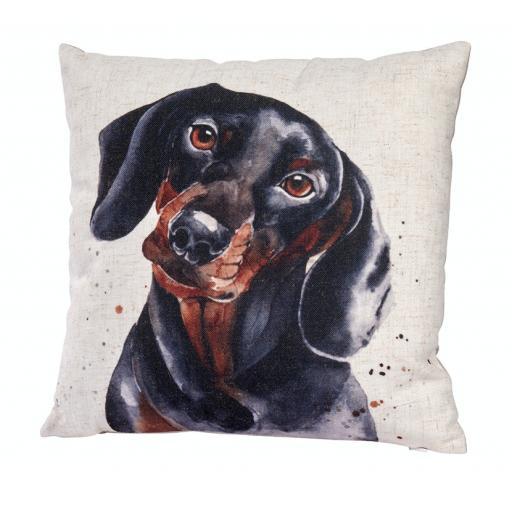 Dachshund Design Cushion