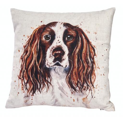 Springer Spaniel Design Cushion