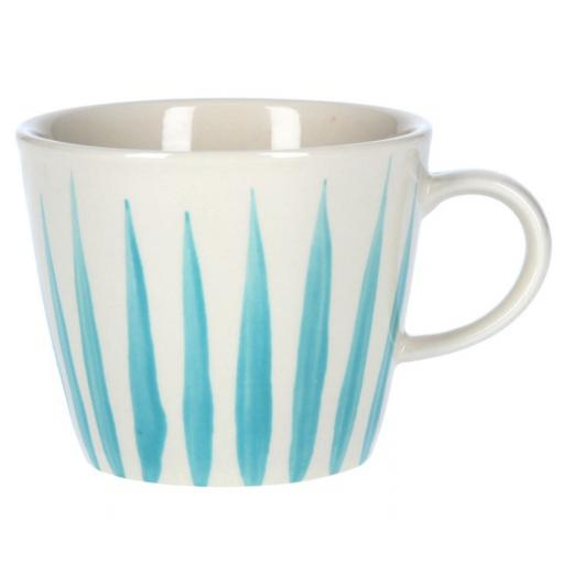 Blue Flame Design Mug by Gisela Graham