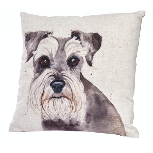 Schnauzer Design Cushion