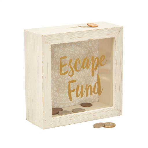 Escape Fund Money Box by sass & belle
