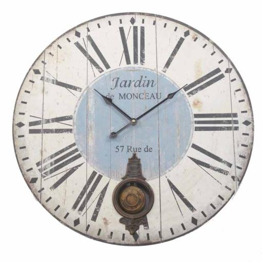 Vintage Wooden Pendulum Wall Clock