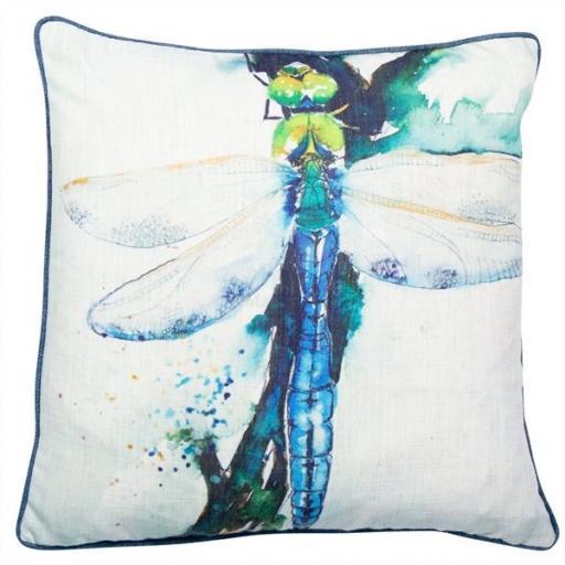Skimmer Dragonfly Cushion