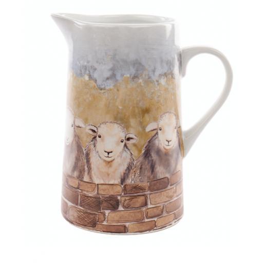 Herdwick Sheep Design Large Jug