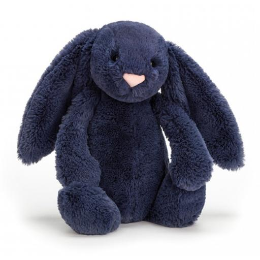 Small Bashful Navy Bunny by Jellycat