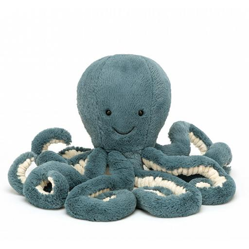 Storm Octopus by Jellycat, Little