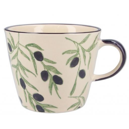 Olives Design Mug by Gisela Graham