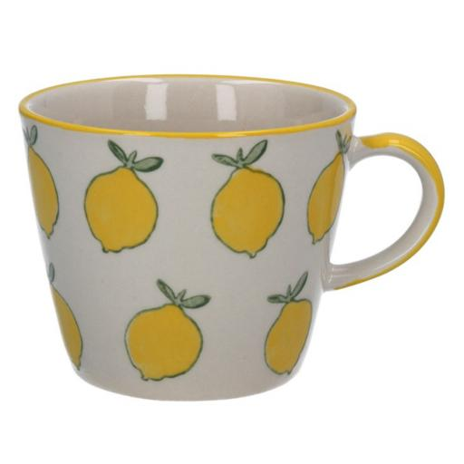 Lemons Design Mug by Gisela Graham