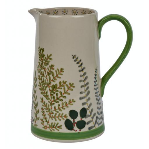 Botanical Design Jug