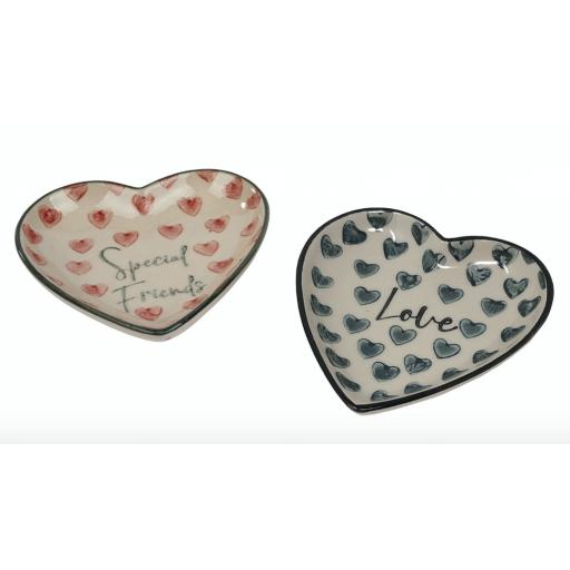 Special Friends Heart Design Dish