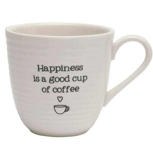 Happiness Is A Good Cup Of Coffee Mug