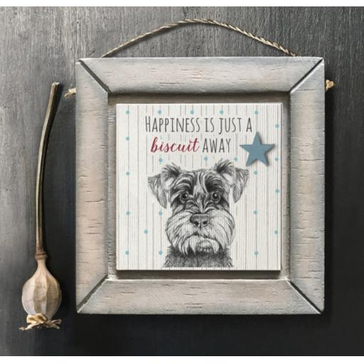 East Of India Terrier Framed Print