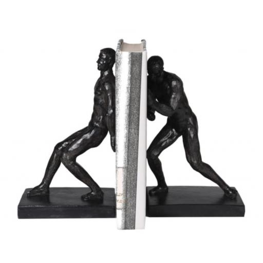 Push Pull Men Bookends