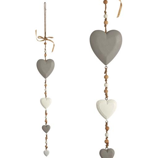 Amelie Hearts Hanging Garland