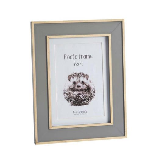 Malmo 6 x 4 Wooden Grey Photo Frame