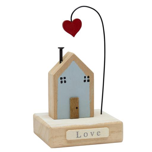 Home With Heart Wooden House