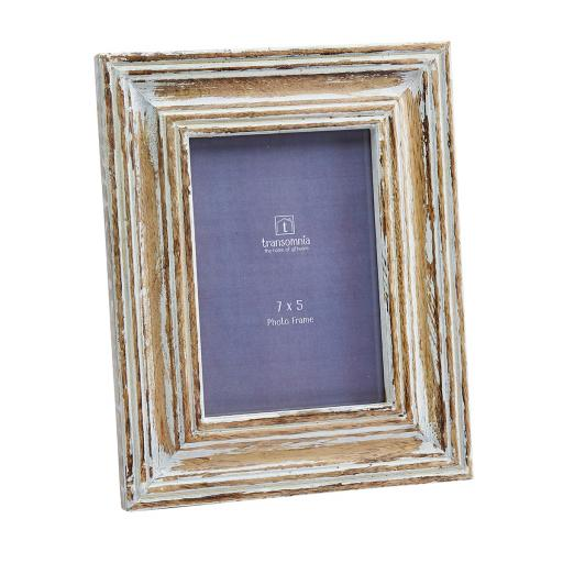 Elma 7x5 Distressed Finish Wooden Frame