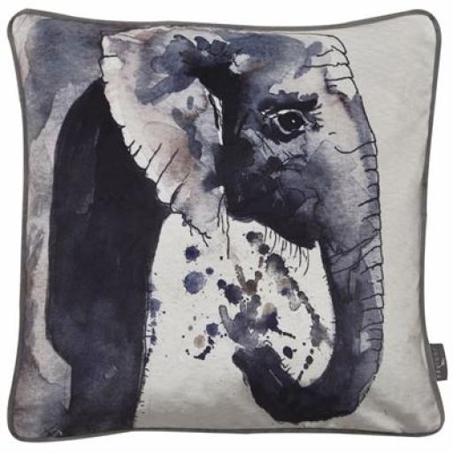Printed Elephant Cushion
