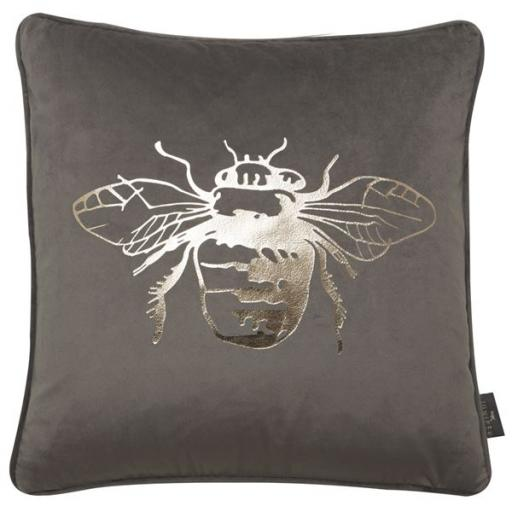 Juniper Honey Bee Foil Cushion