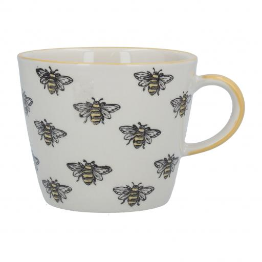 Multi Bee Design Mug by Gisela Graham