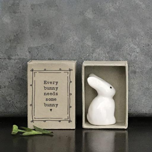 Match Box Ceramic Bunny by East Of India