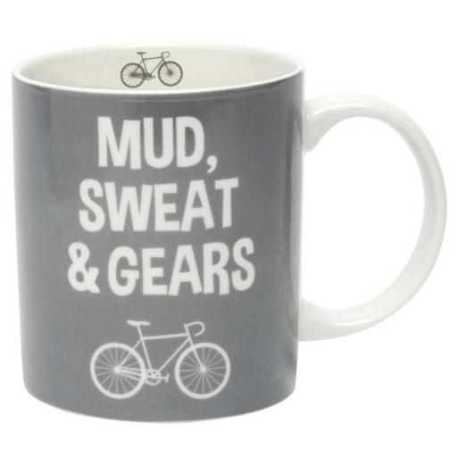 Mud , Sweat & Gears Cyclist Mug