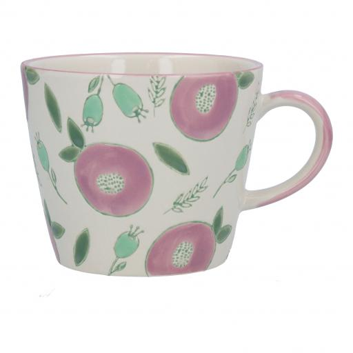 Plum & Berry Design Mug by Gisela Graham