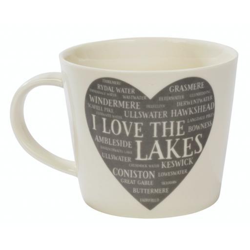 I Love The Lakes Mug