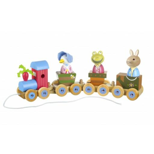 Peter Rabbit Wooden Puzzle Train
