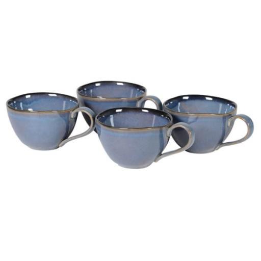 Blue Oversized Cup Design Mug