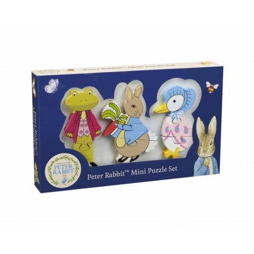 Peter Rabbit Wooden Mini Puzzle Set