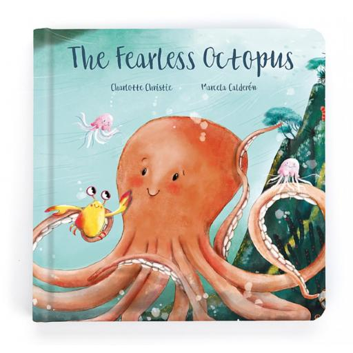 The Fearless Octopus Book By Jellycat