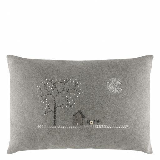 Home Handmade Wool Cushion.