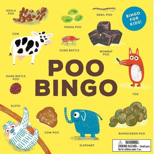 POO BINGO FOR KIDS