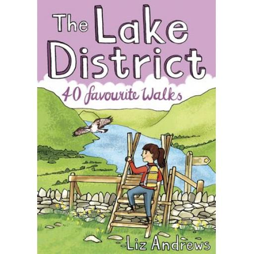PAPERBACK BOOK LAKE DISTRICT: 40 FAVOURITE WALKS