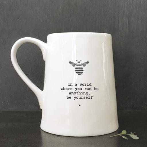 Porcelain Mug Be Yourself