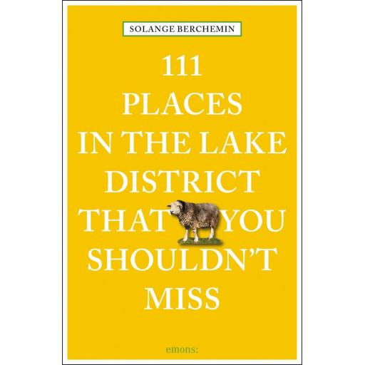 PAPERBACK BOOK 111 PLACES IN THE LAKE DISTRICT THAT YOU SHOULDN'T MISS