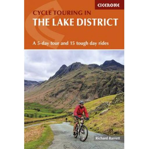 PAPERBACK BOOK CYCLING IN THE LAKE DISTRICT