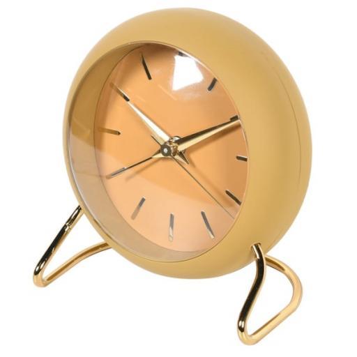 Mustard Yellow Alarm Clock