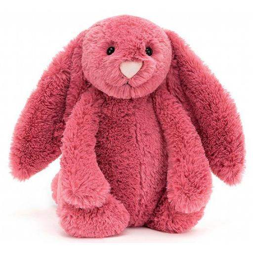 Small Cerise Bashful Bunny By Jellycat