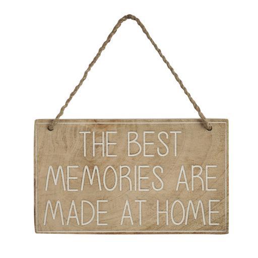 Best Memories ... Wooden Sign