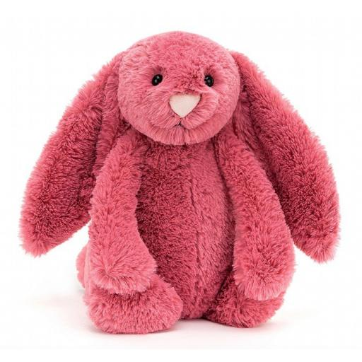 Medium Cerise Bashful Bunny By Jellycat