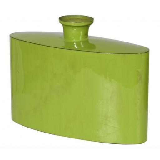 Lime Enamel Jaipur Vase