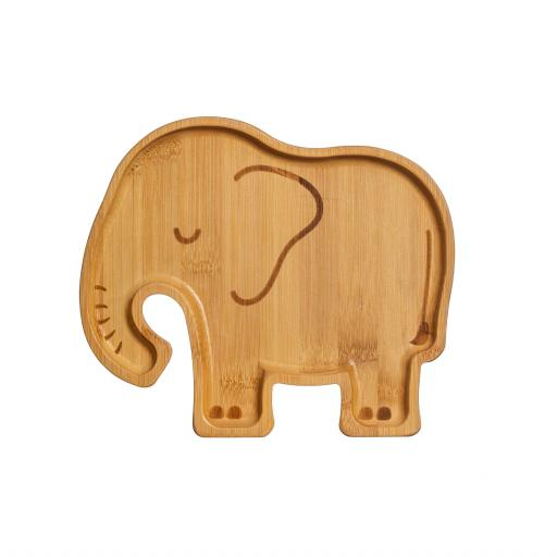 Bamboo Elephant Plate